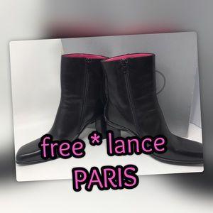 NWT FREE LANCE PARIS Ankle Boots AMAZING!! 🌸
